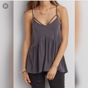 American Eagle Outfitters | Grey Cami Tank